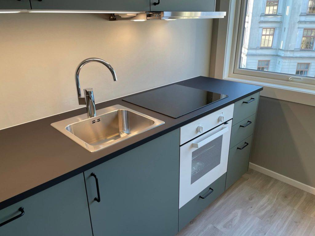 Romberggata 2 - Kjøkken - Induksjon og ovn